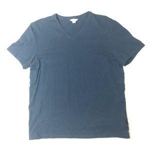 Blue Calvin Klein V-neck T-shirt!